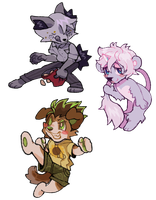 Chibis? In my bnha started again? by softmio