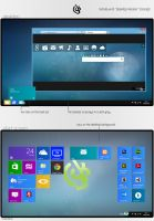 Windows 8 Desktop Version Concept by lgkonline