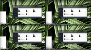 Nextlevel Glass Theme Win10 Fall Creators by Cleodesktop