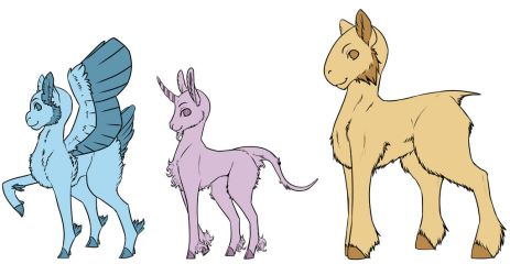 Personal My Little Pony Species by Chioro