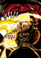 Living Weapon Iron Fist! by nic011