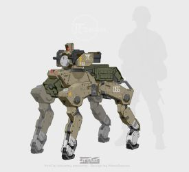 mecha P90 carrier by marksanwel