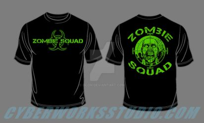 ZOMBIE shirt sample by DCON