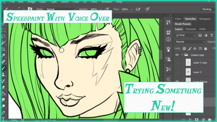 Trying Something New And Pizzazz Speedpaint by KittysTavern