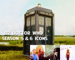 Doctor Who Icons: Set 1 by SkylarkEcstasy14