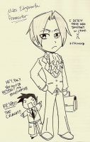 miles edgeworth by 02ildem