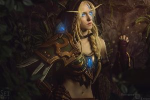Alleria Windrunner - 1 by Feyische