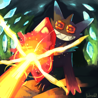 Mega Sableye Used Protect by Phatmon