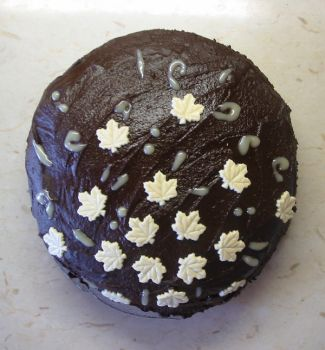 Chocolate Cherry cake by H2Omellon