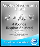 Adobe Macromedia Metal icons by skingcito