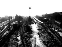Train Lines by Cayasha