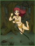 Jungle Girl CG piece 1