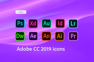 Adobe CC 2019 Icons by robomartion
