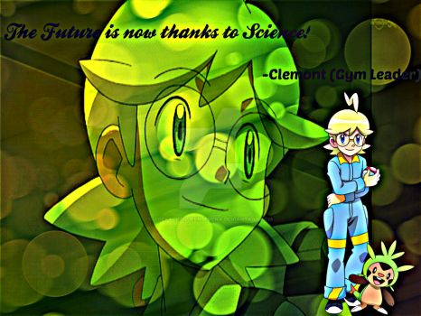 Clemont Quote-Wallpaper by TheKalosQueenSerena