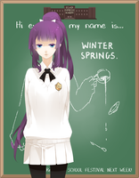EE - HS AU Winter by Tapichu