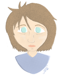 Lineless Self Portrait by WhiskStar
