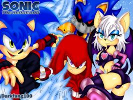 Mangaverse - Sonic The Hedgehog by darkfang100