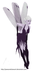 .:Request:. Dark Faerie by SR-Graphics