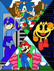 Video Game Icons by PikachuFan0617