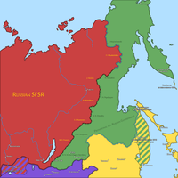 Eastern Front of the Russian Civil War (1921) by Sevgart