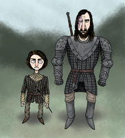 The Wolf And The Hound by KaissE
