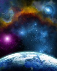 Space background (2014-10-05) by ThetaHelion