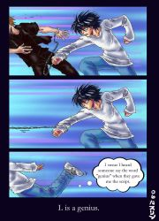 Death Note: L is a genius by claudiakat