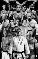 Legends of the UFC by ShomanArt