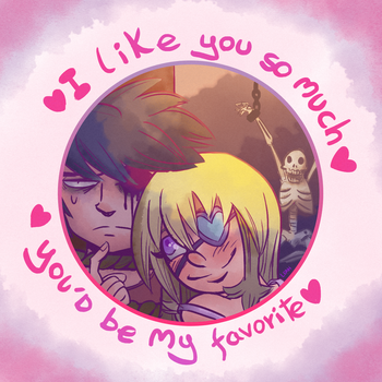 Valentine's Day Card by LeahVillart