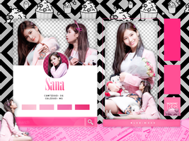 SANA | TWICE | PACK PNG by KoreanGallery