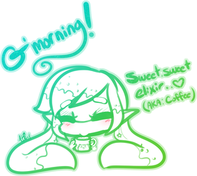 Good Morning [Ally Inkling] by TehButterCookie