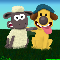 Shaun And Bitzer - Friends Forever by AnimationFanatic