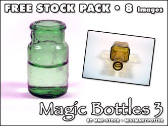FREE STOCK, Magic Bottles 3 by mmp-stock