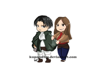 Levi and Momo by kupocoffee