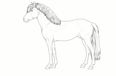 Halter entry animated WIP by BH-Stables