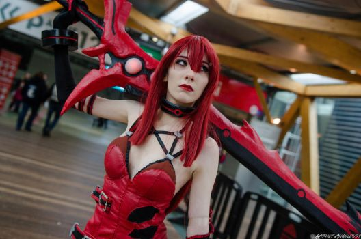 Elesis Crimson Avenger Cosplay #34 DmC - Garnet by DrawMeaCosplay