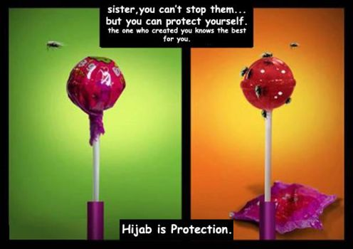 hijab is protection by swordofdeath