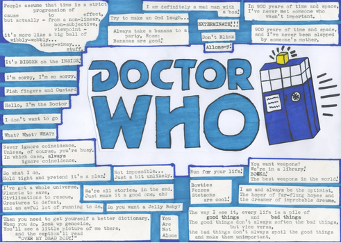 Doctor Who Quotes by DoyouwantaJellyBaby