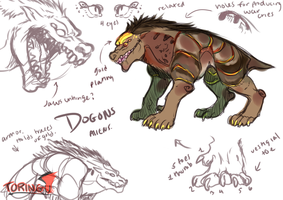 Dogons Sketches by Avalanto