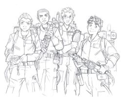 Ghostbusters by ChrissyDelk