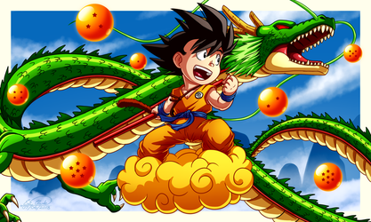Dragon Ball - Version 2 by Sawuinhaff