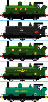 Duck The Great Western Engine by Galaxy-Afro