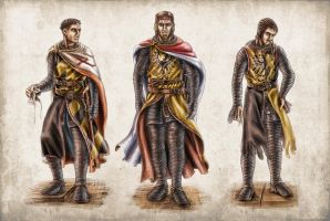 outfit study - Barbarossa by MacX85