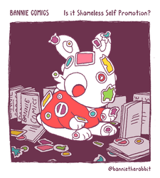 Bannie Comics: Is It Shameless Self Promotion? by GreenMangos