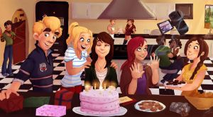 Amy's Birthday by Prydester
