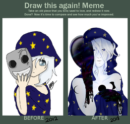 Draw Again Meme: Masked by TheEditCat