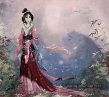 Fa Mulan by Veronika-Art