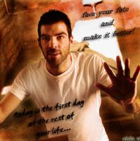 Zachary Quinto or Sylar by ifndshelter