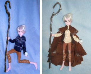 Jack Frost 1/6 OOAK Doll from ROTG by SetsunaKou