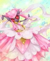 Diancie Megashinka by LittleOcean